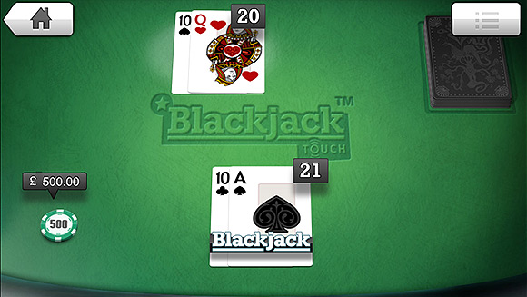 Blackjack mobiel in de lift!