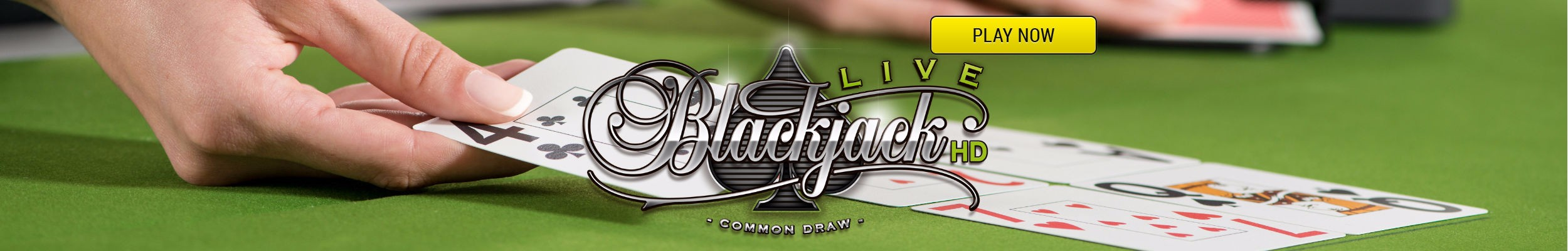Live Common Draw Blackjack spelen