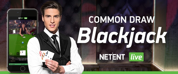 Common Draw Blackjack live